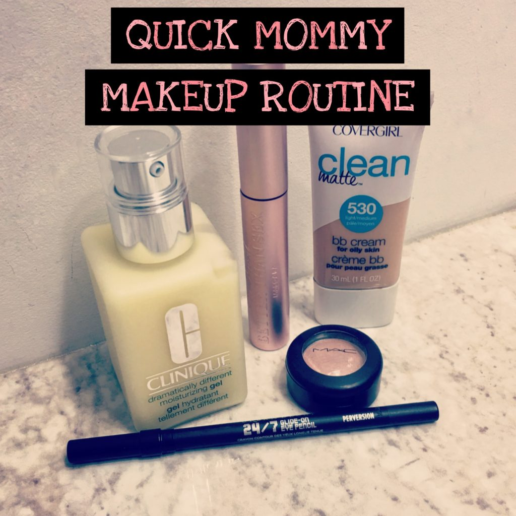 Quick Mommy Makeup Routine