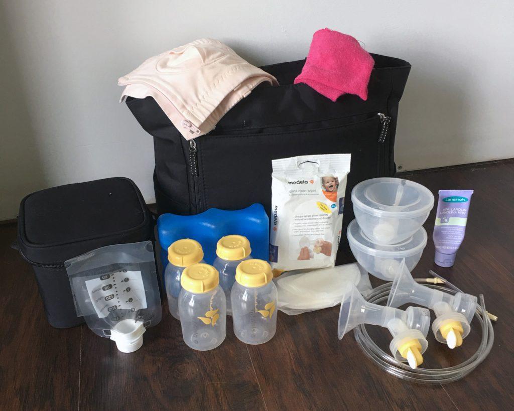 breast pump bag checklist